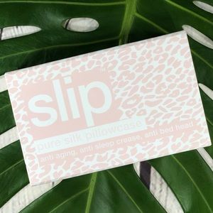 Sold! Slip Silk Queen Pillowcase In Snow Leopard